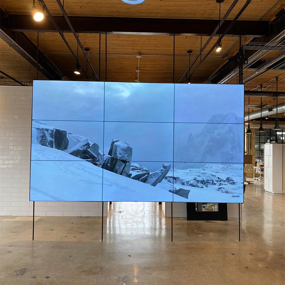 Commercial TV installation Toronto