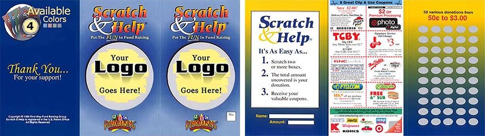 Host a scratch card fundraiser