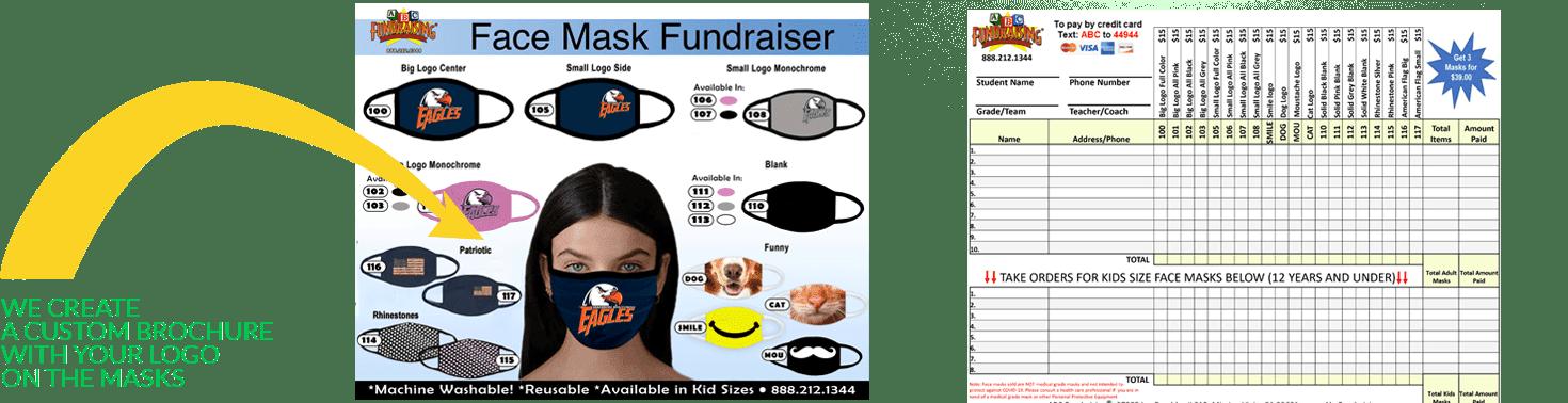 Face masks through ABC Fundraising