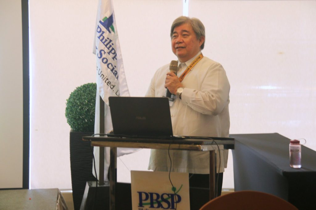 COMMISSION ON POPULATION AND DEVELOPMENT (POPCOM) Executive Director Dr. Juan Antonio Perez III, MD, MPH discusses the importance of an integrated framework and synchronized solutions to the country's problems on population, health, and environment.