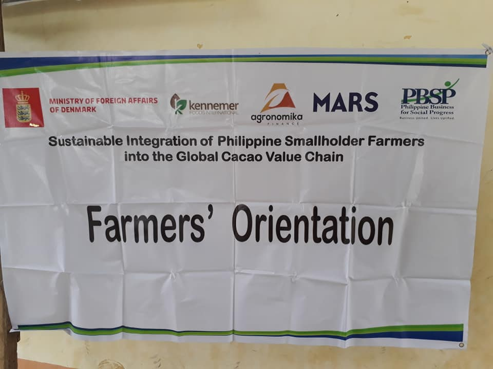 Denmark partners with PBSP, business firms for farmers' entry in global cacao value chain