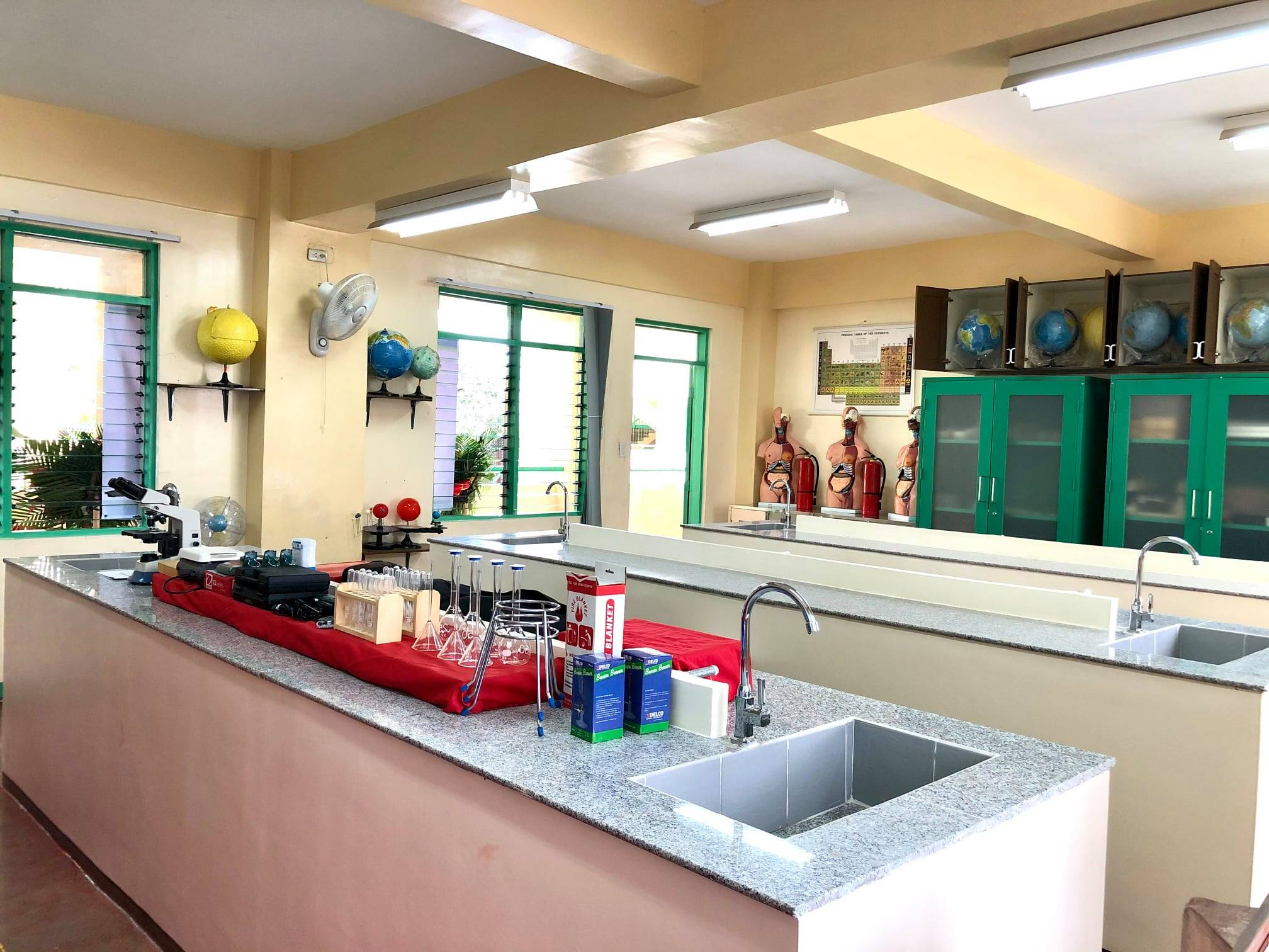 Dow Chemical Philippines and PBSP turn over a STEM Laboratory to Tisa National High School