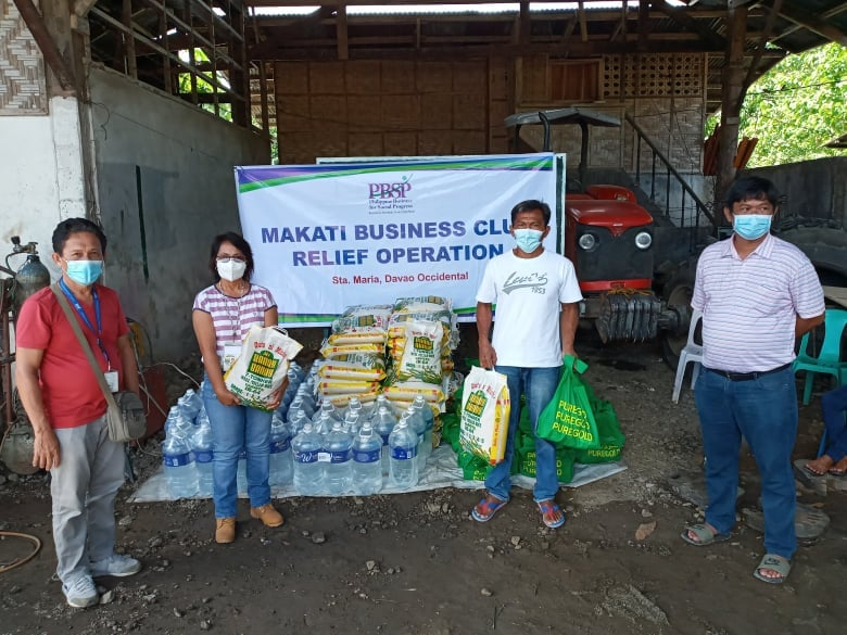 Makati Business Club and PBSP assist families affected by the 2019 Mindanao Earthquake