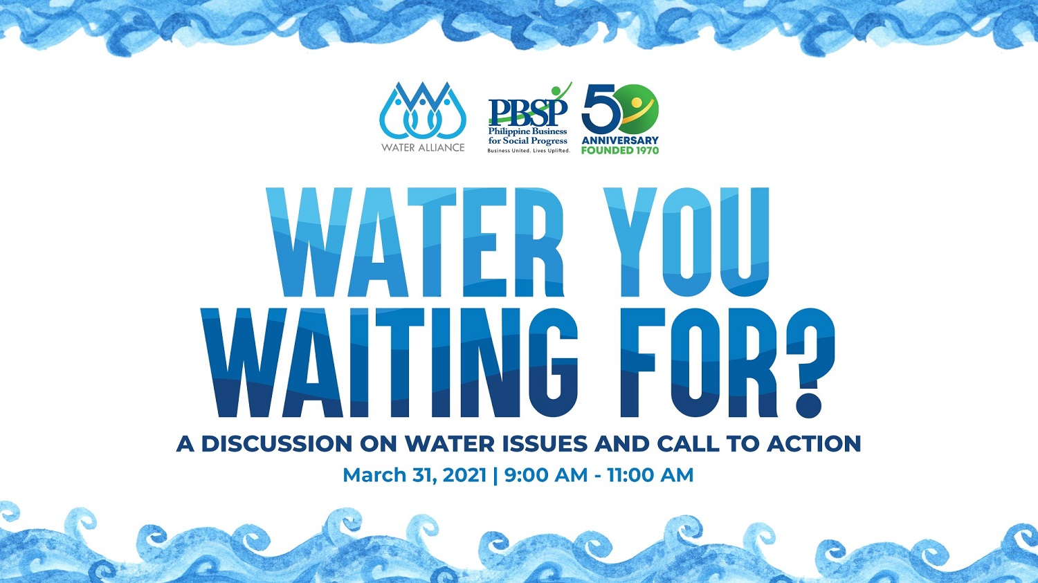 Water You Waiting For? A Discussion on Water Issues and Call to Action