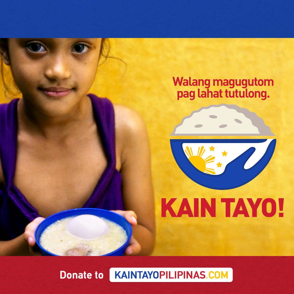 Private sector launches Kain Tayo Pilipinas