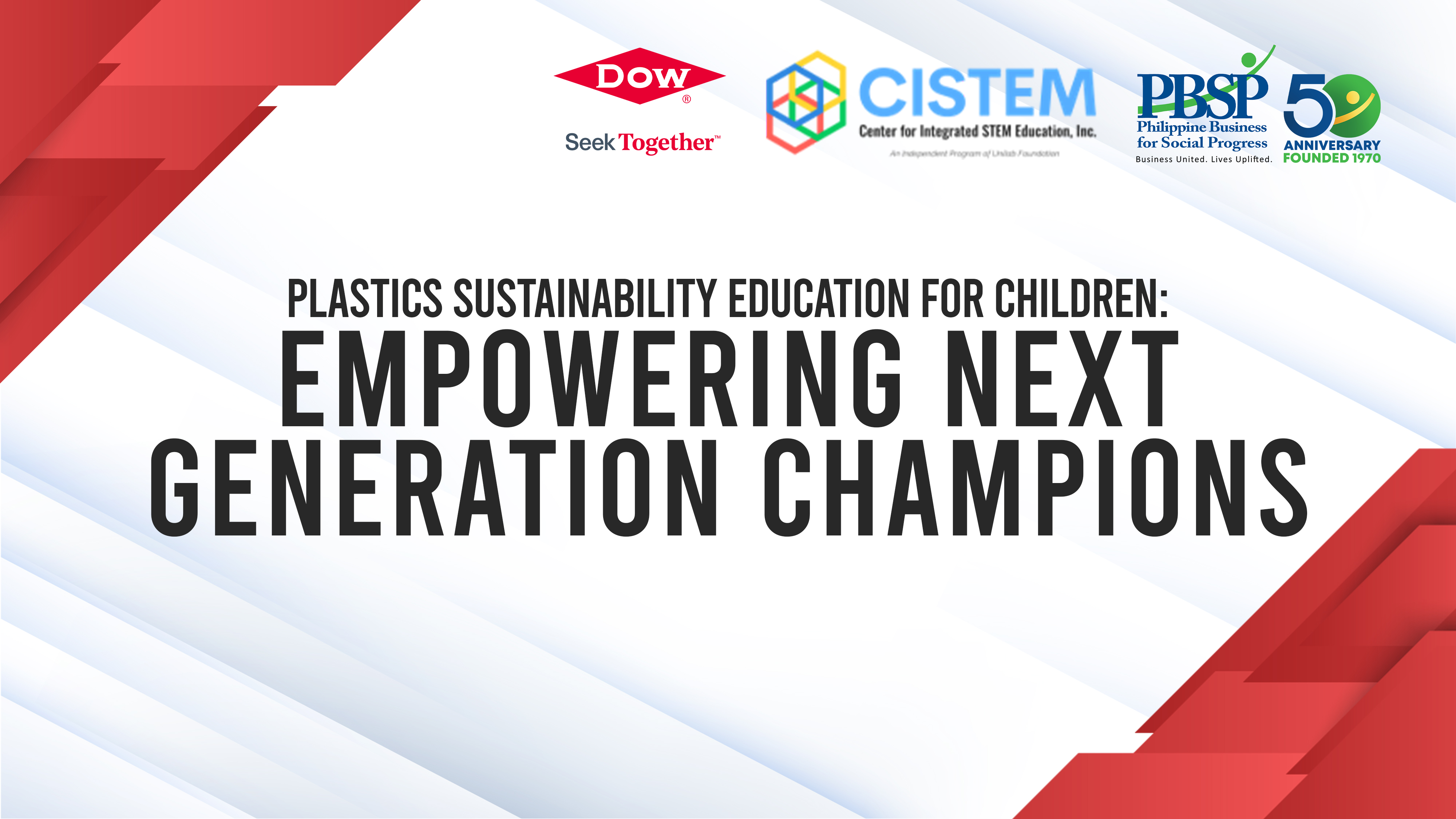 Empowering next generation of environment sustainability champions