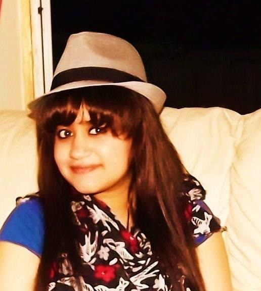 Another hat wearer, this time it is a selfie of Tamanna, posing with a fedora.