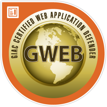GIAC Certified Web Application Defender (GWEB)