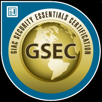 GIAC Security Essentials (GSEC) Certification