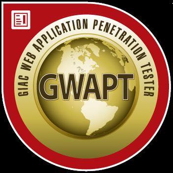 GIAC Web Application Penetration Tester (GWAPT)