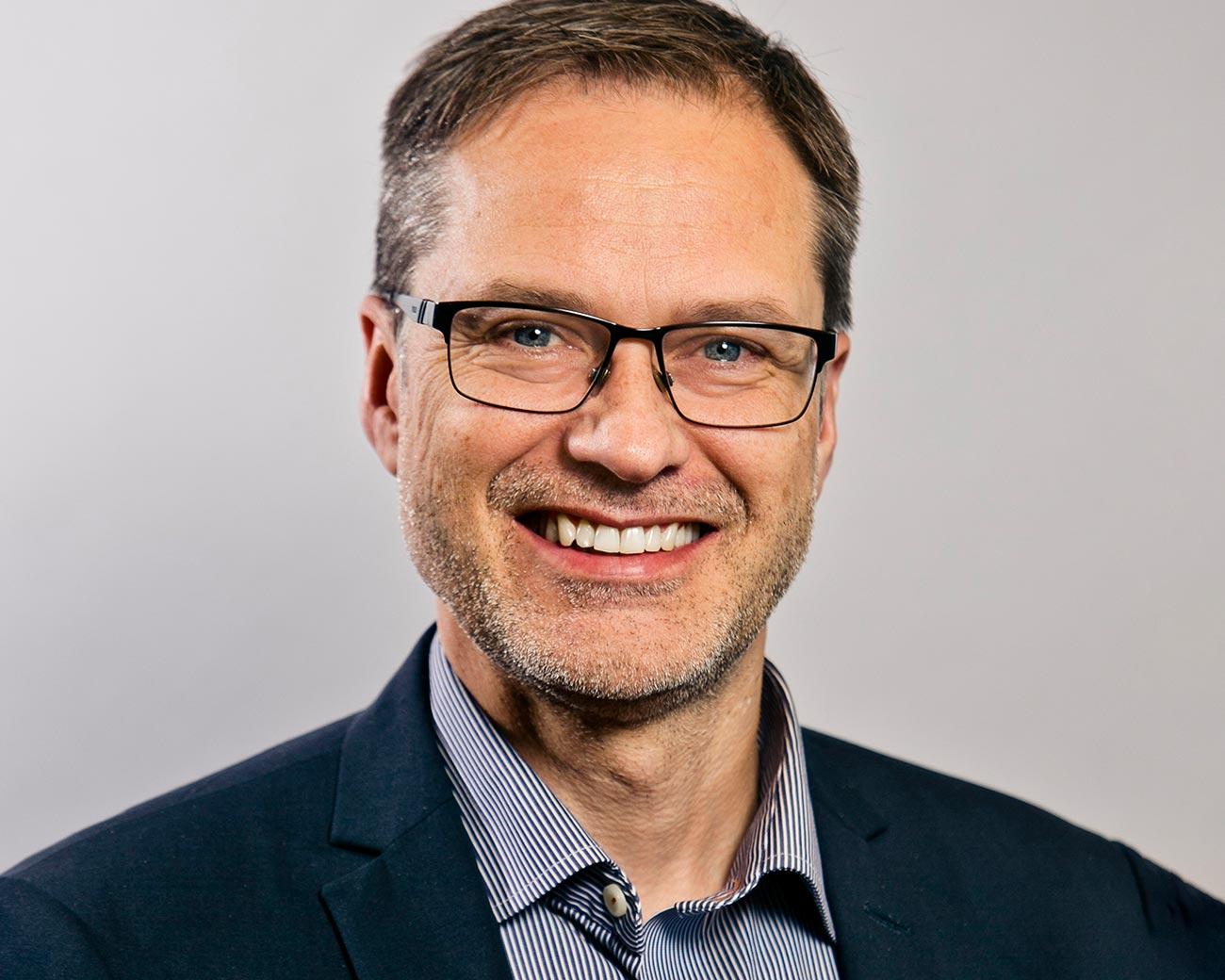 Magnus Wikström, CEO of Coor in Sweden