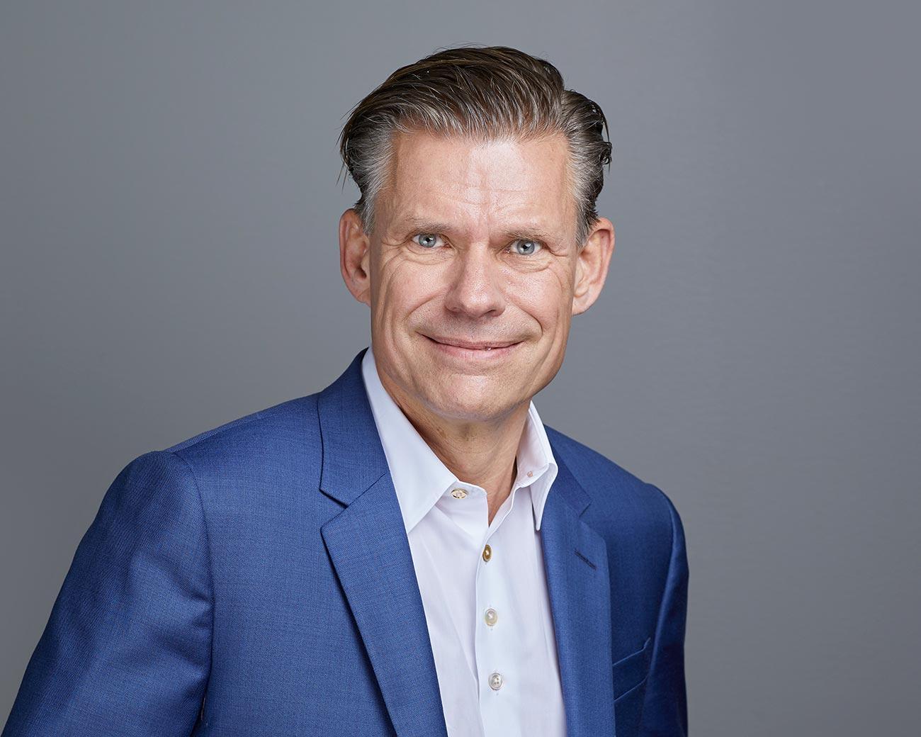 Jørgen Utzon, CEO of Coor in Denmark