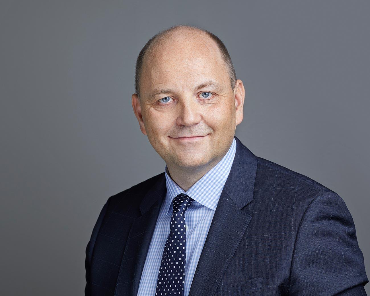 Marcus Karsten, CEO of Coor in Finland
