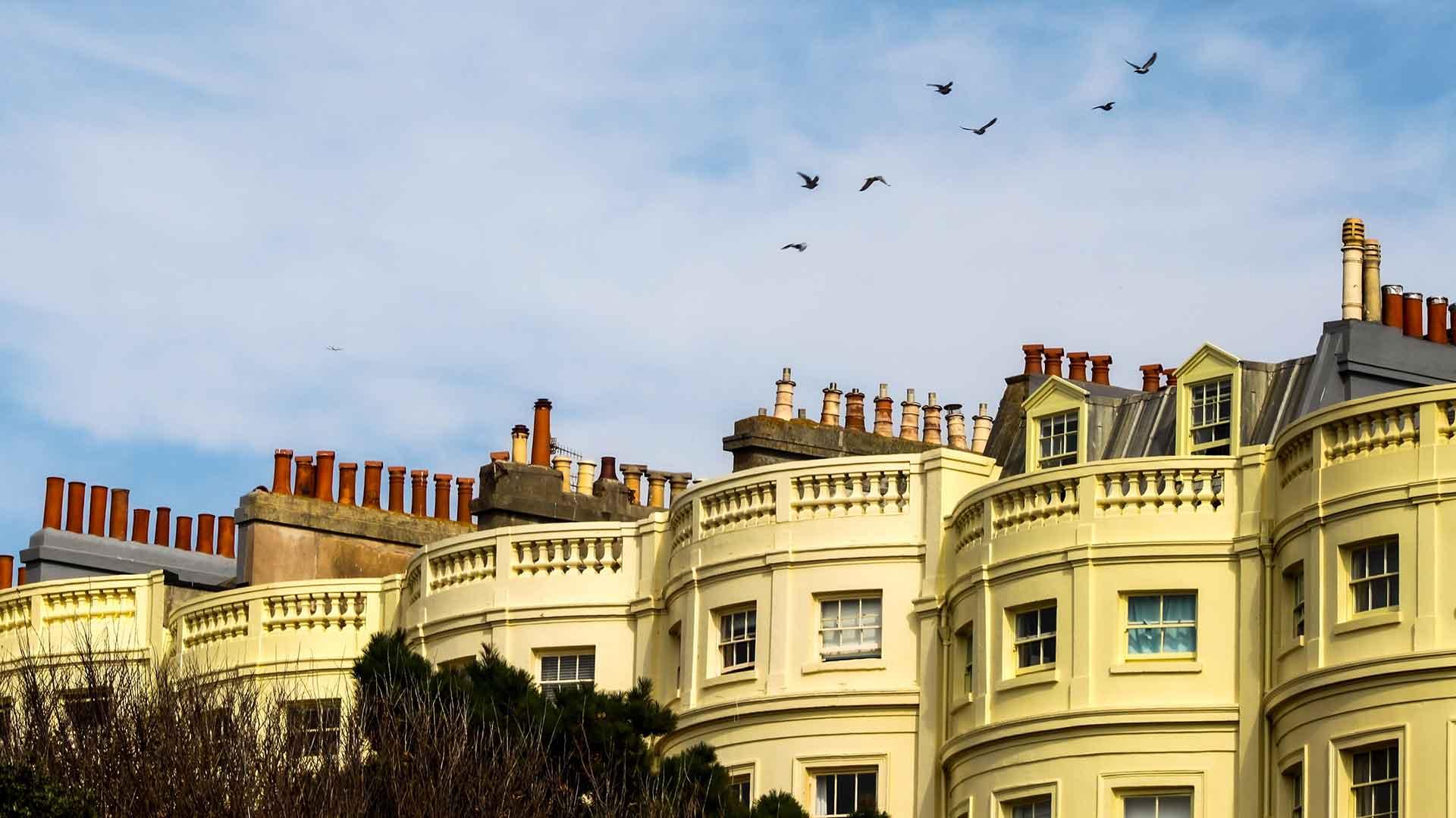 Regency buildings in Brighton's Regency Square