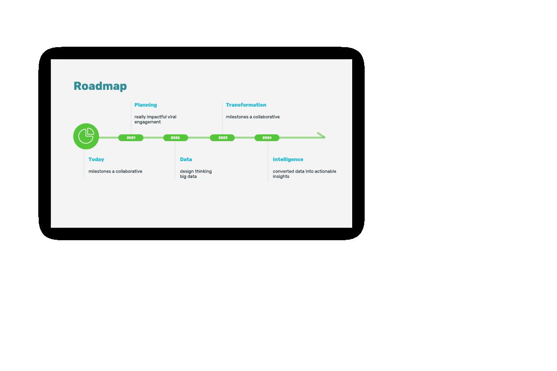 Copywriting in slide example