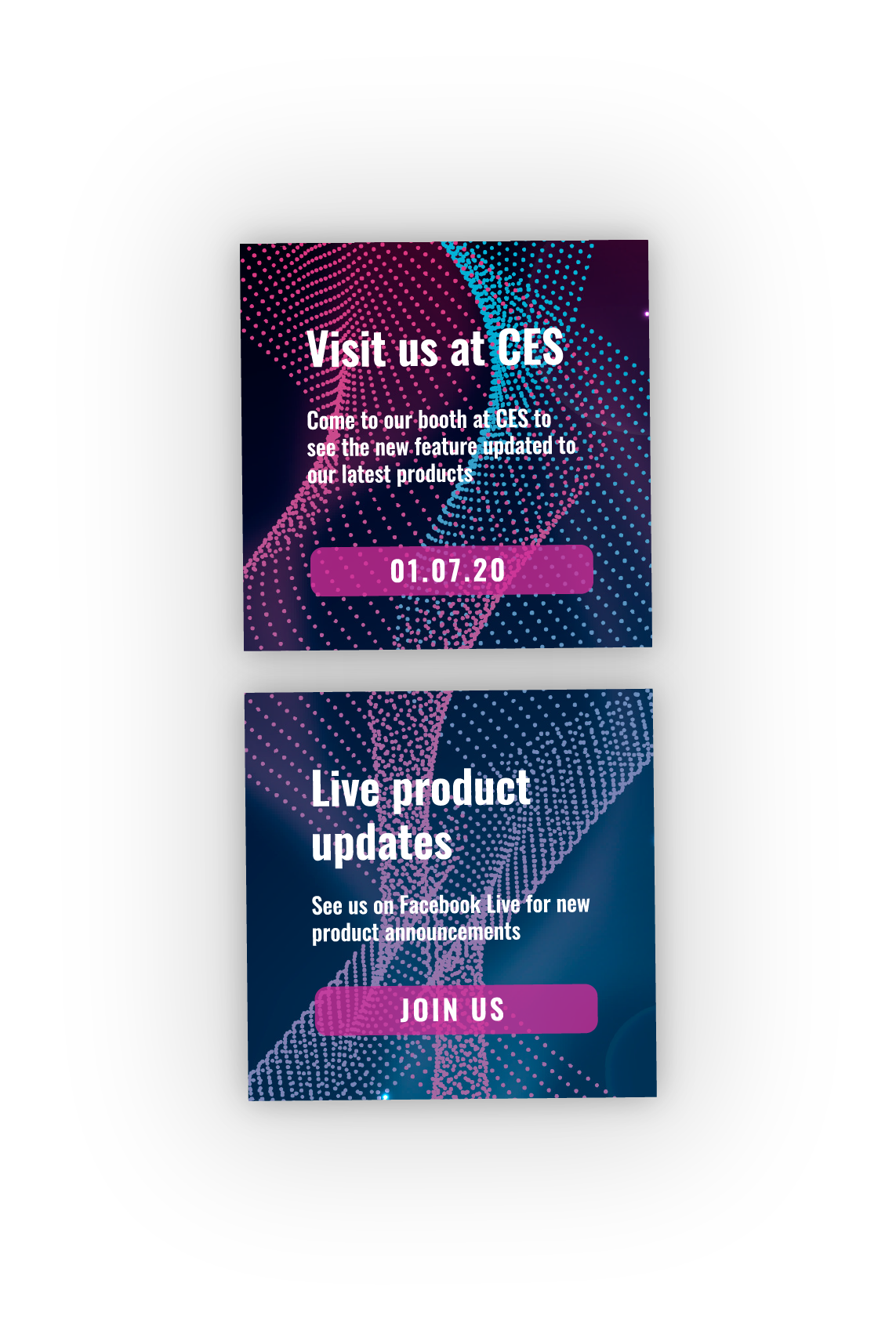 CES Ad examples