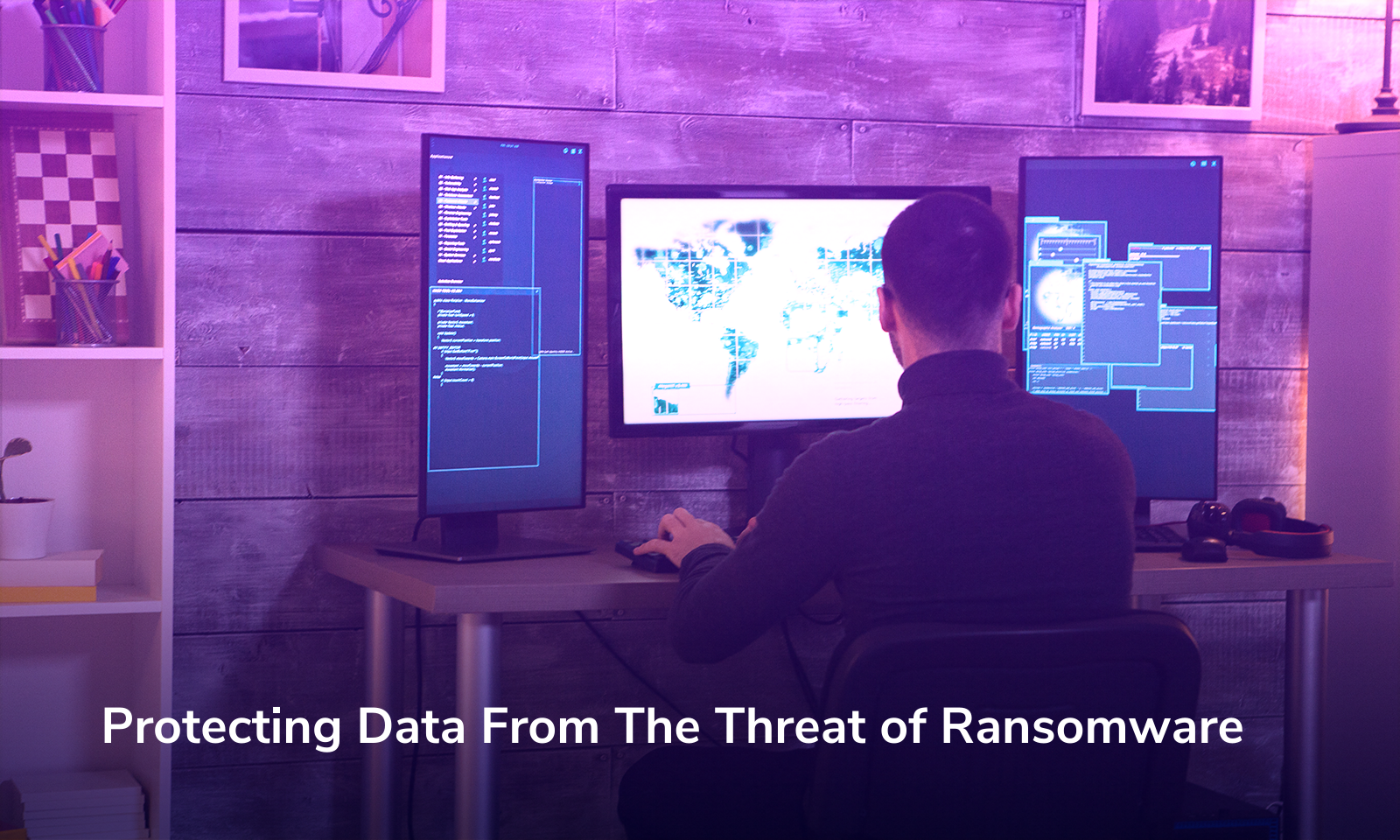 Protecting Data From The Threat of Ransomware
