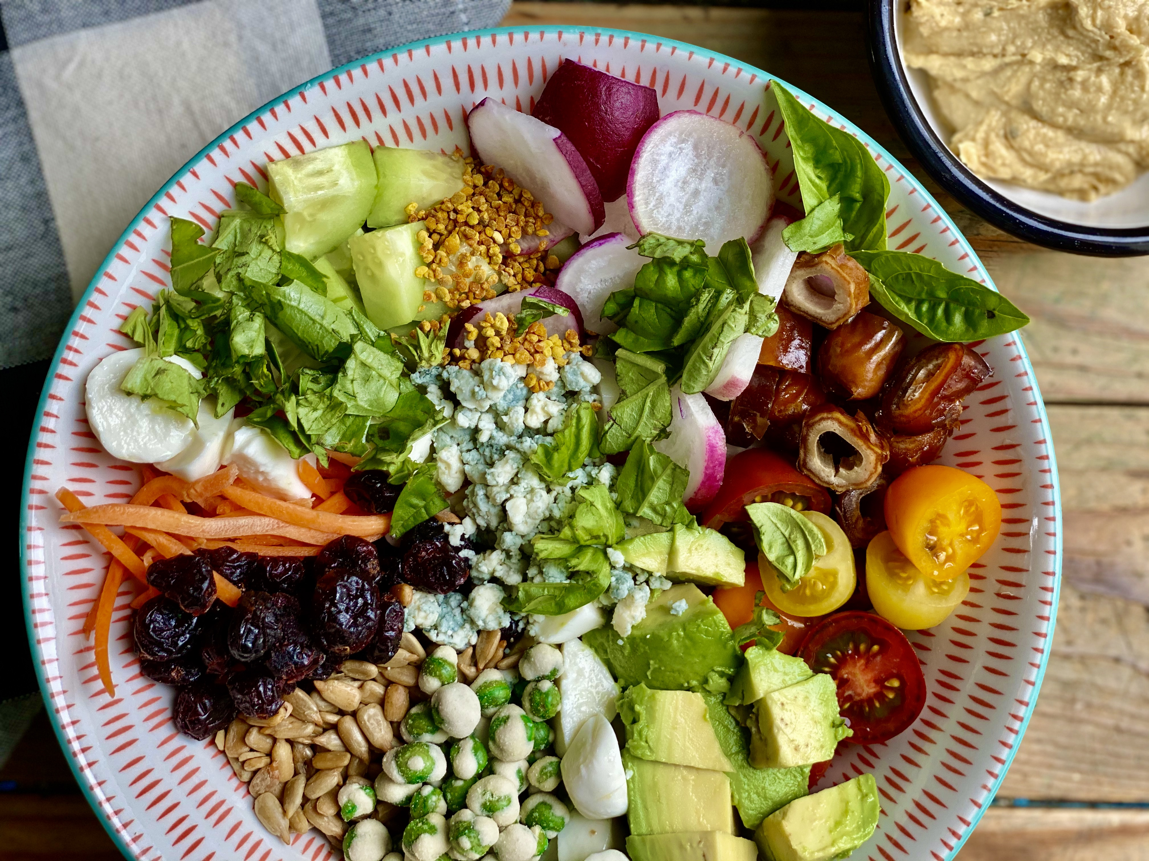 """""""All The Good Stuff"""" Salad"""