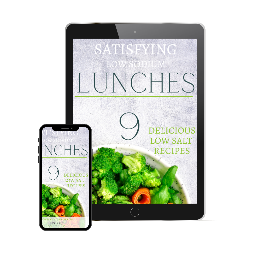 9 Satisfying Low Sodium Lunches