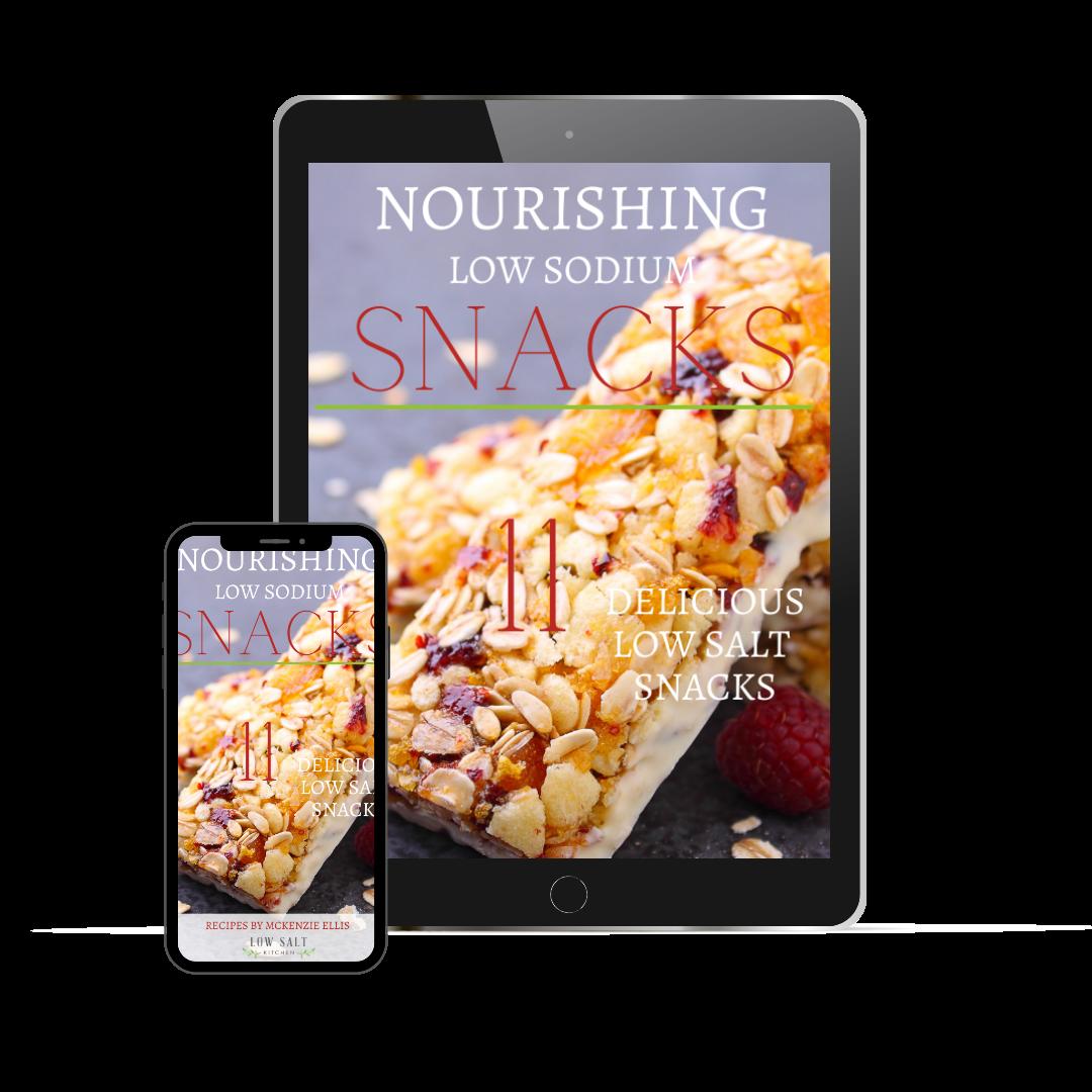 11 Delicious Low Salt Snacks