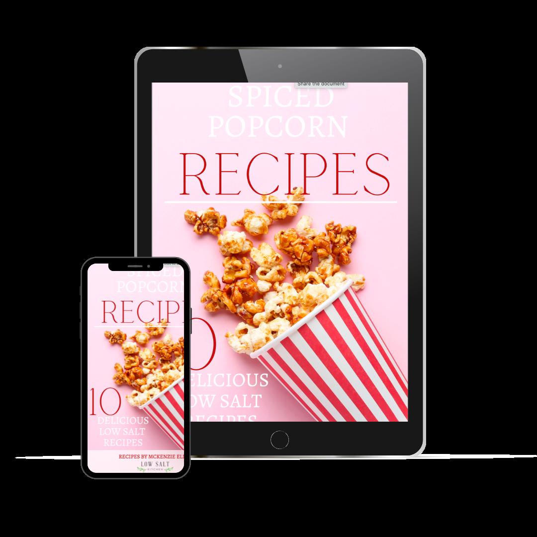 10 Delicious Low Salt Popcorn Recipes