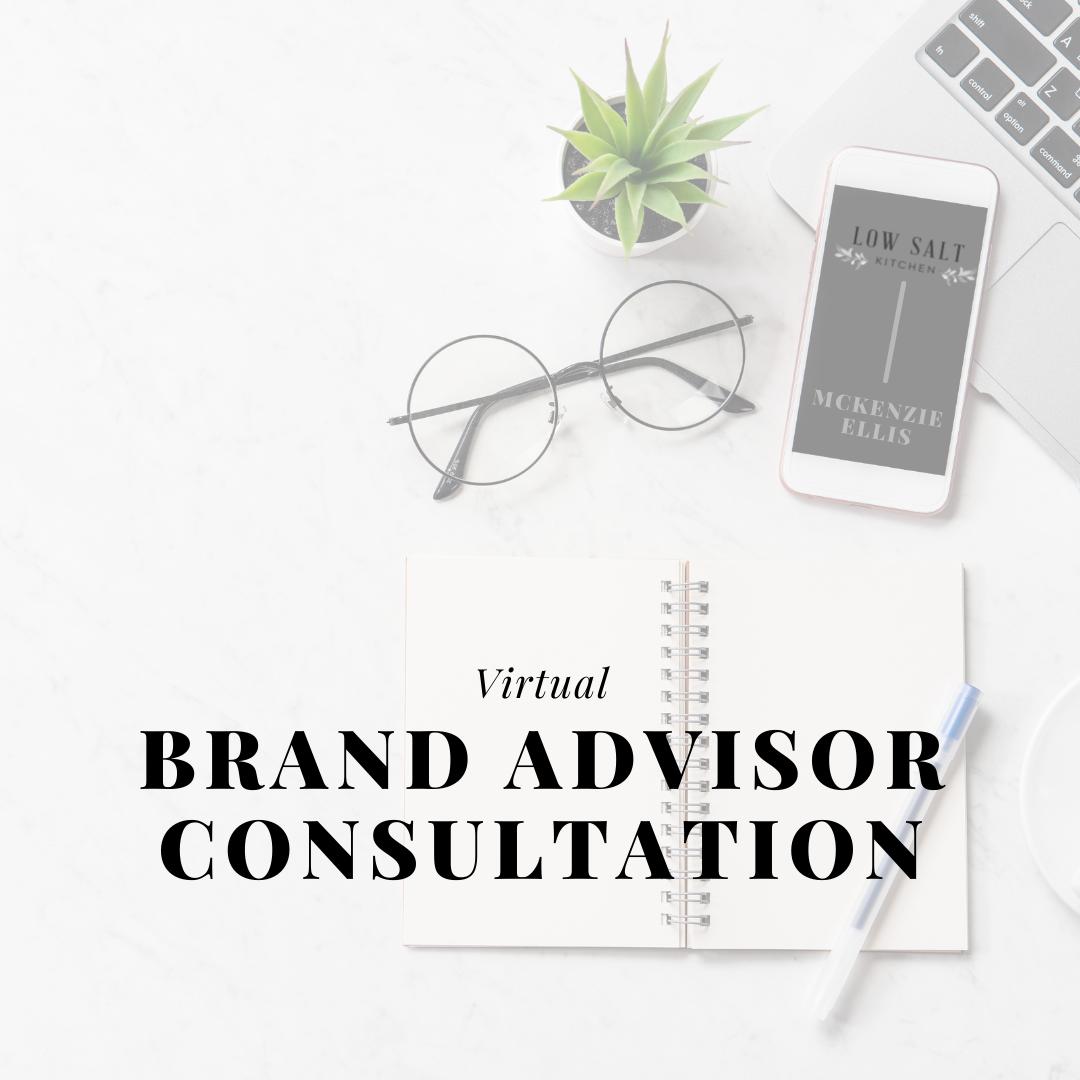One-Hour Brand Advisor Consultation