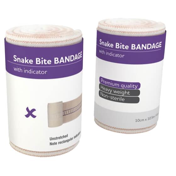 AeroForm Premium Snake Bite Bandages with Continuous Indicator – Short
