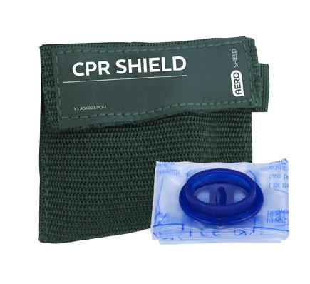 AeroShield Key Ring CPR Face Shield