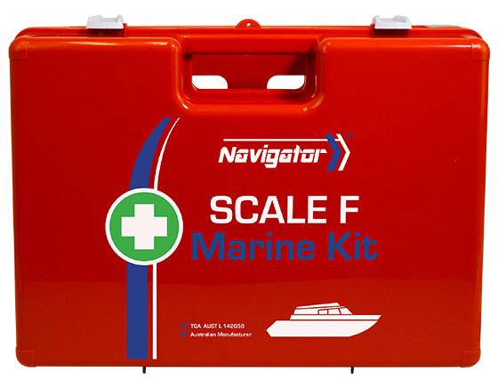 Navigator Marine First Aid Kit – Scale F