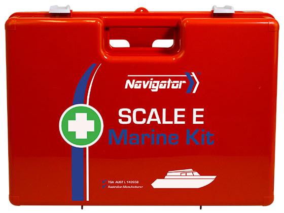 Navigator Marine First Aid Kit – Scale E
