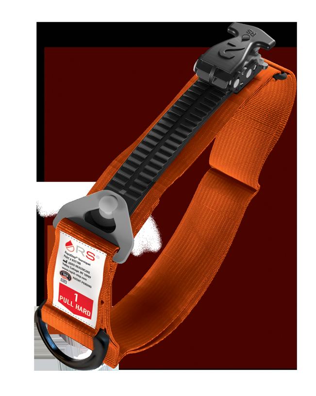 RapidStop® Tourniquet™ Tourniquet – EMS Orange