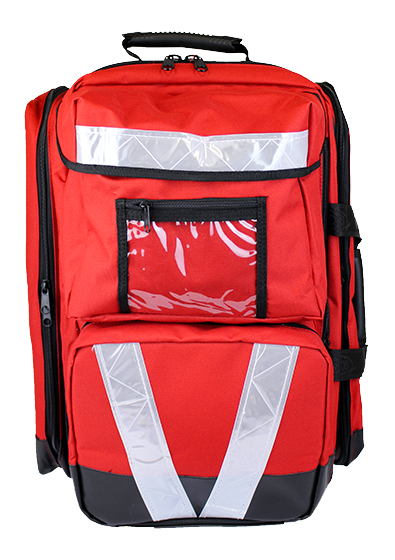 Red Softpack First Aid Bags – Trauma, Large