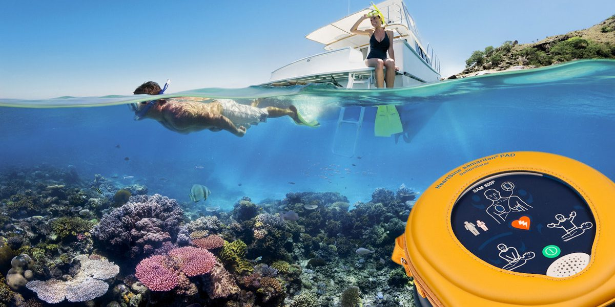 AEDs Required By Law On Queensland Reef Vessels