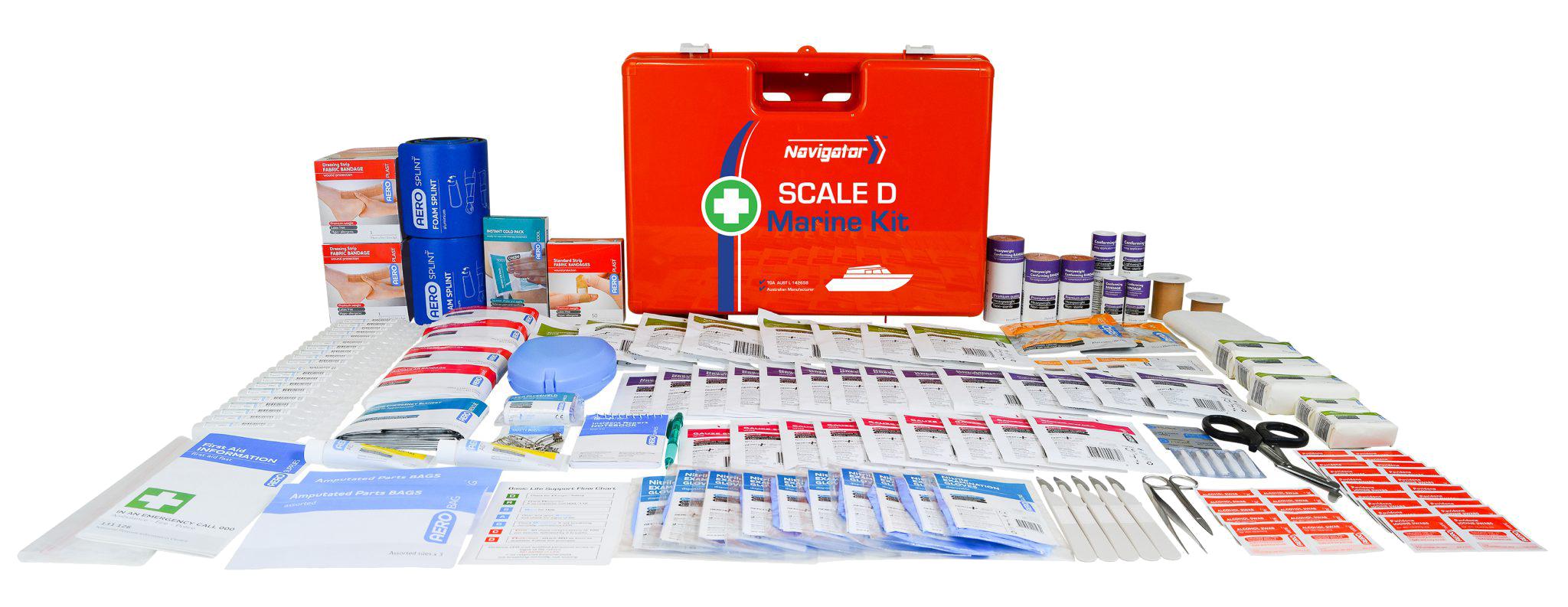Navigator Marine First Aid – Scale D – Refill