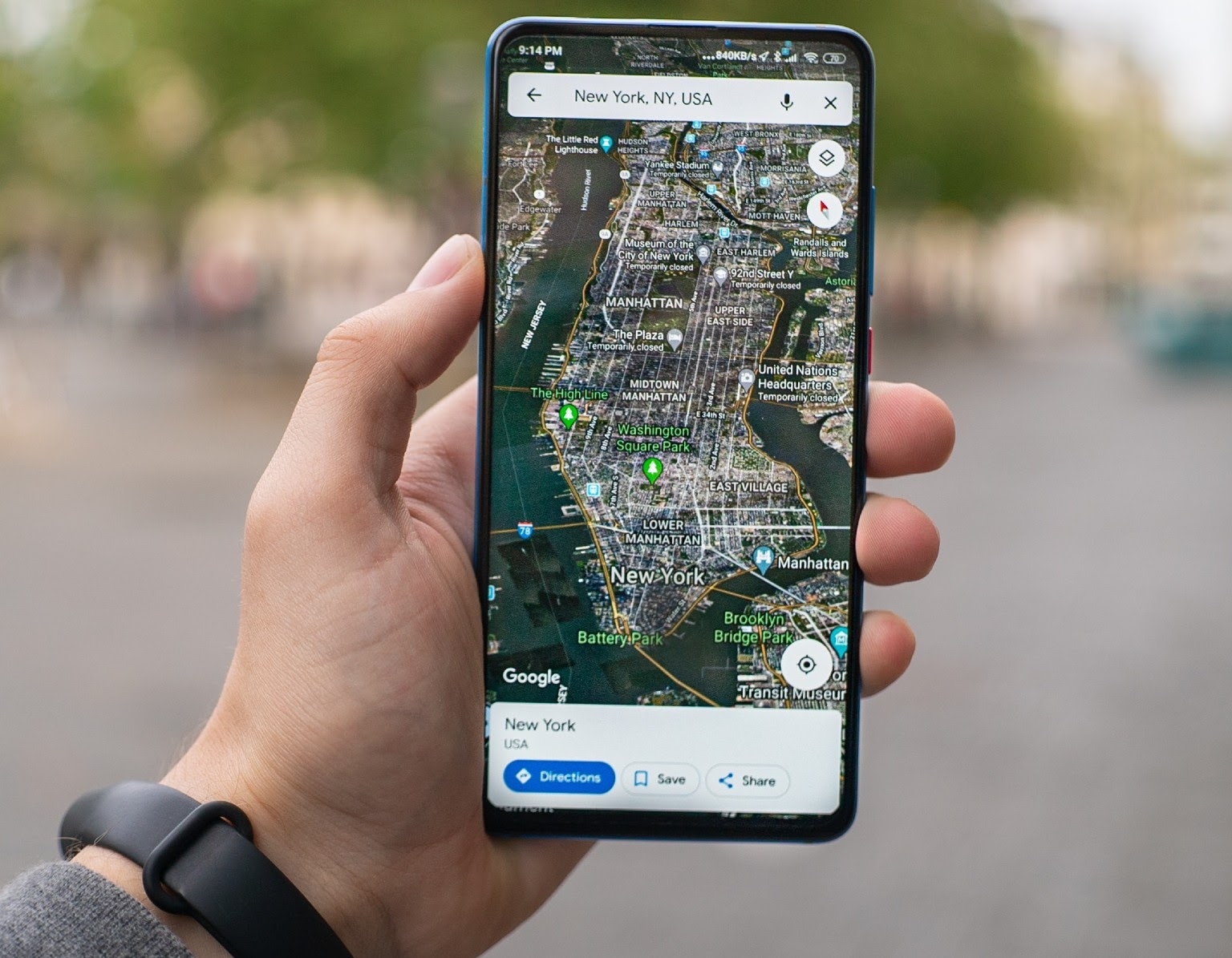 Oppizi software tracks all ambassador locations with GPS.