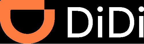 Didi logo white