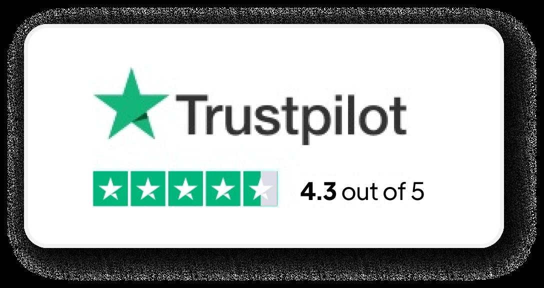 trustpilot badge zaycare.com