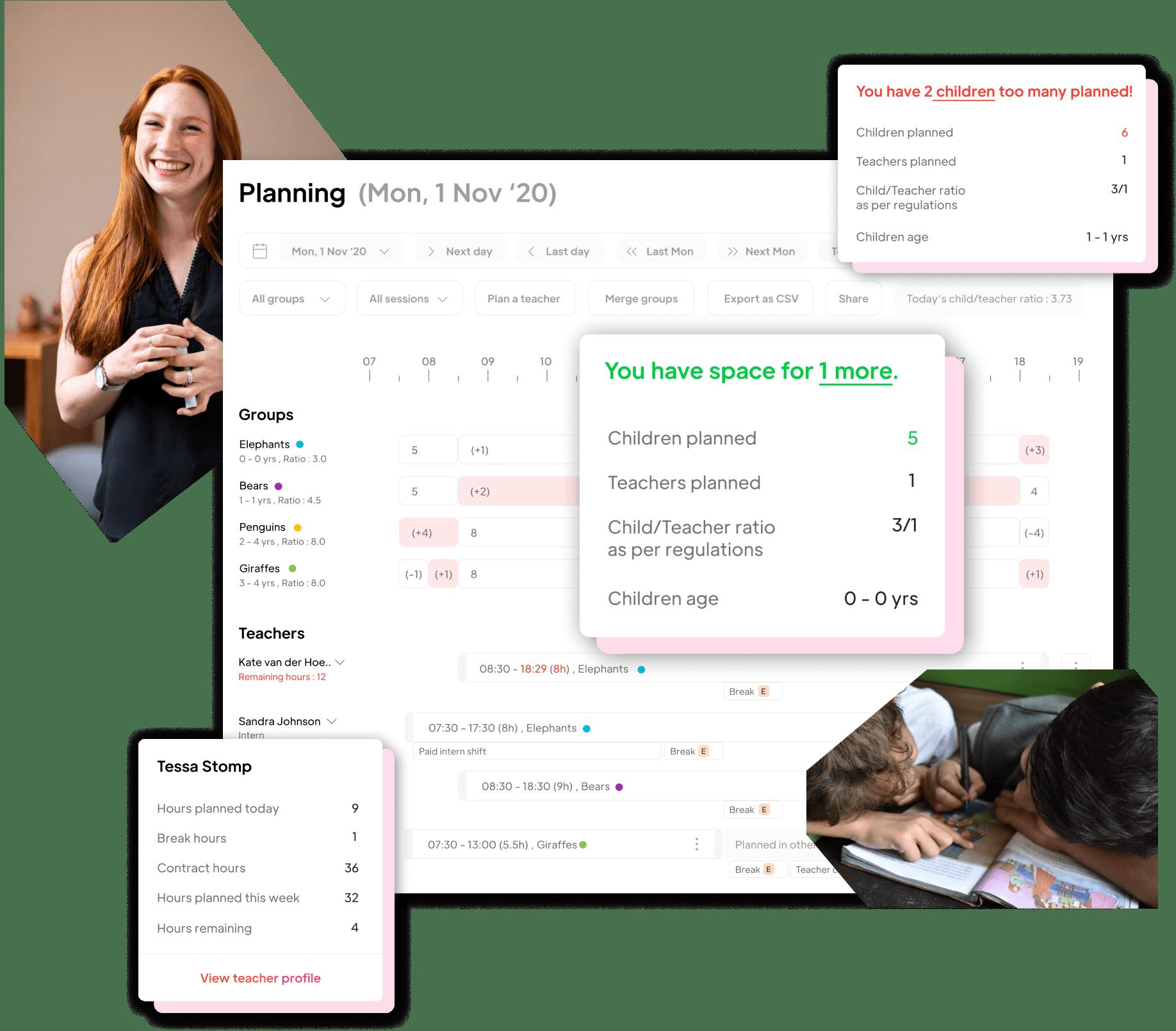 planning module zaycare