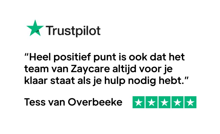 trustpilot review tess zaycare