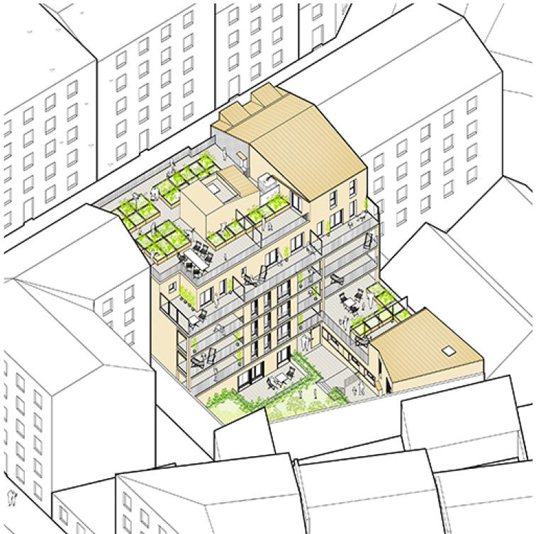 CONSTRUCTION D'UN ENSEMBLE DE 17 LOGEMENTS