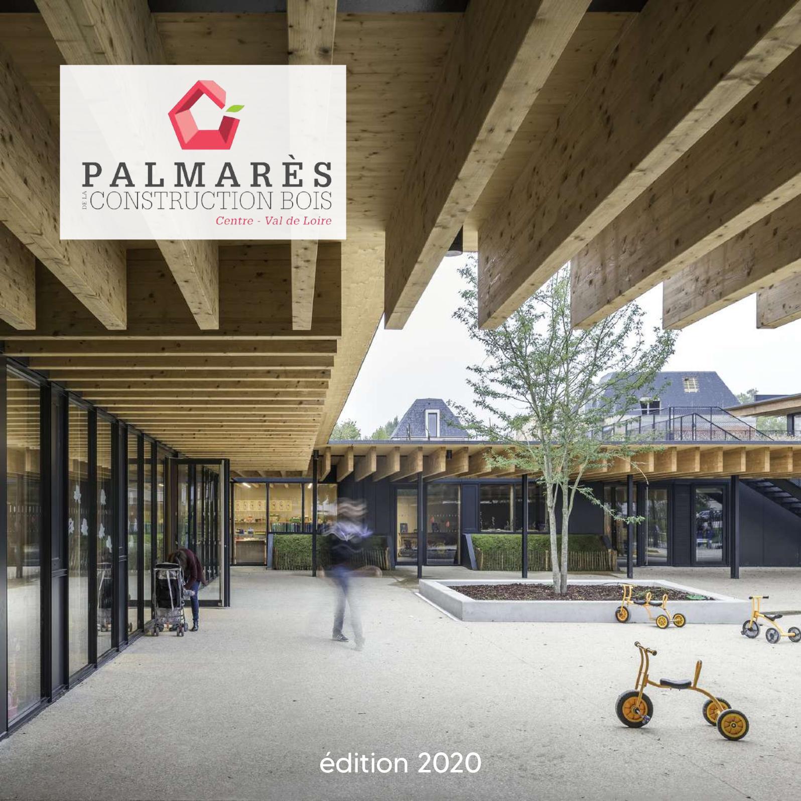 Publication Prix Nationale pour la construction Bois du projet de 13 maisons en bois et paille de Nogent-le-Rotrou
