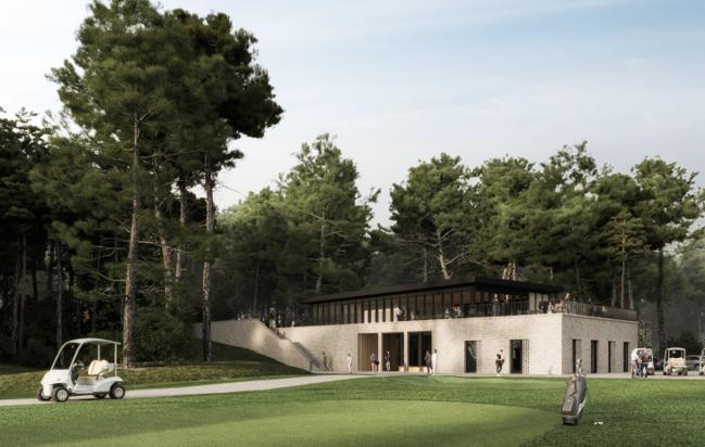 CONSTRUCTION D'UN CLUB-HOUSE LE GOLF DES PINS NEUFCHATEL-HARDELOT