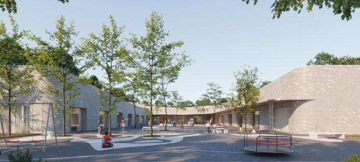 CONSTRUCTION DE L'ECOLE MATERNELLE JEAN DE LA FONTAINE