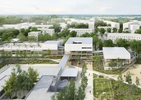 CONSTRUCTION DE LA CITE EDUCATIVE SIMONE VEIL
