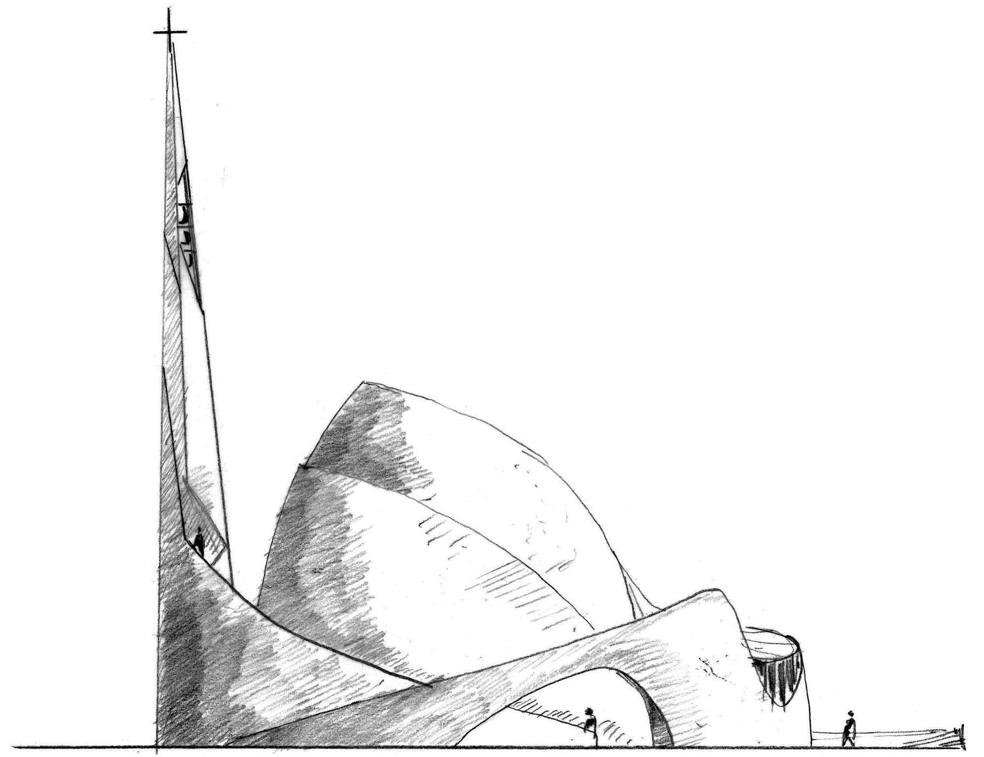 CONSTRUCTION DE L'EGLISE SAINT JOSEPH LE BIENVEILLANT