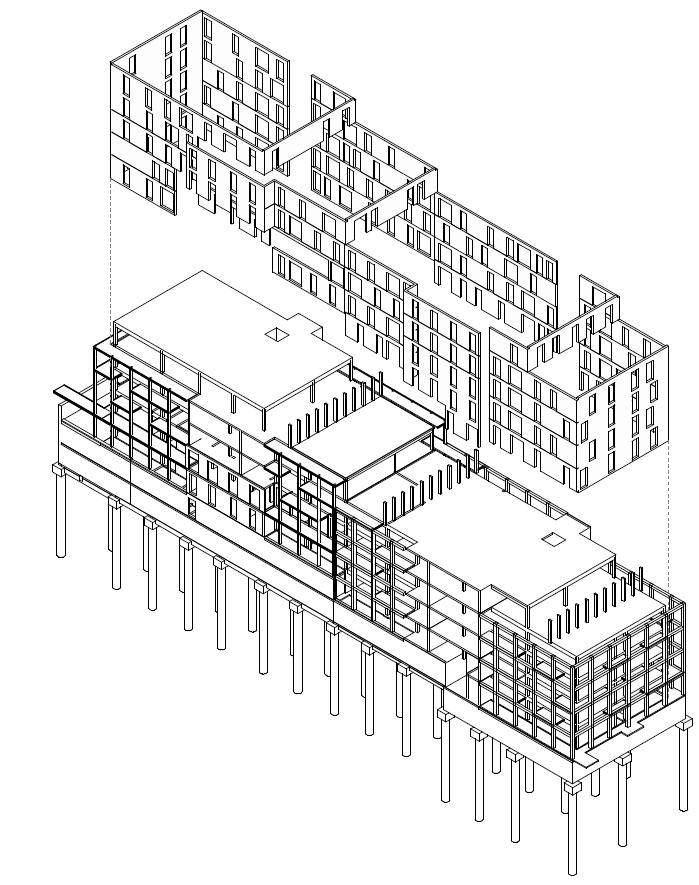 99 Logements pour le LOT A5 en construction bois
