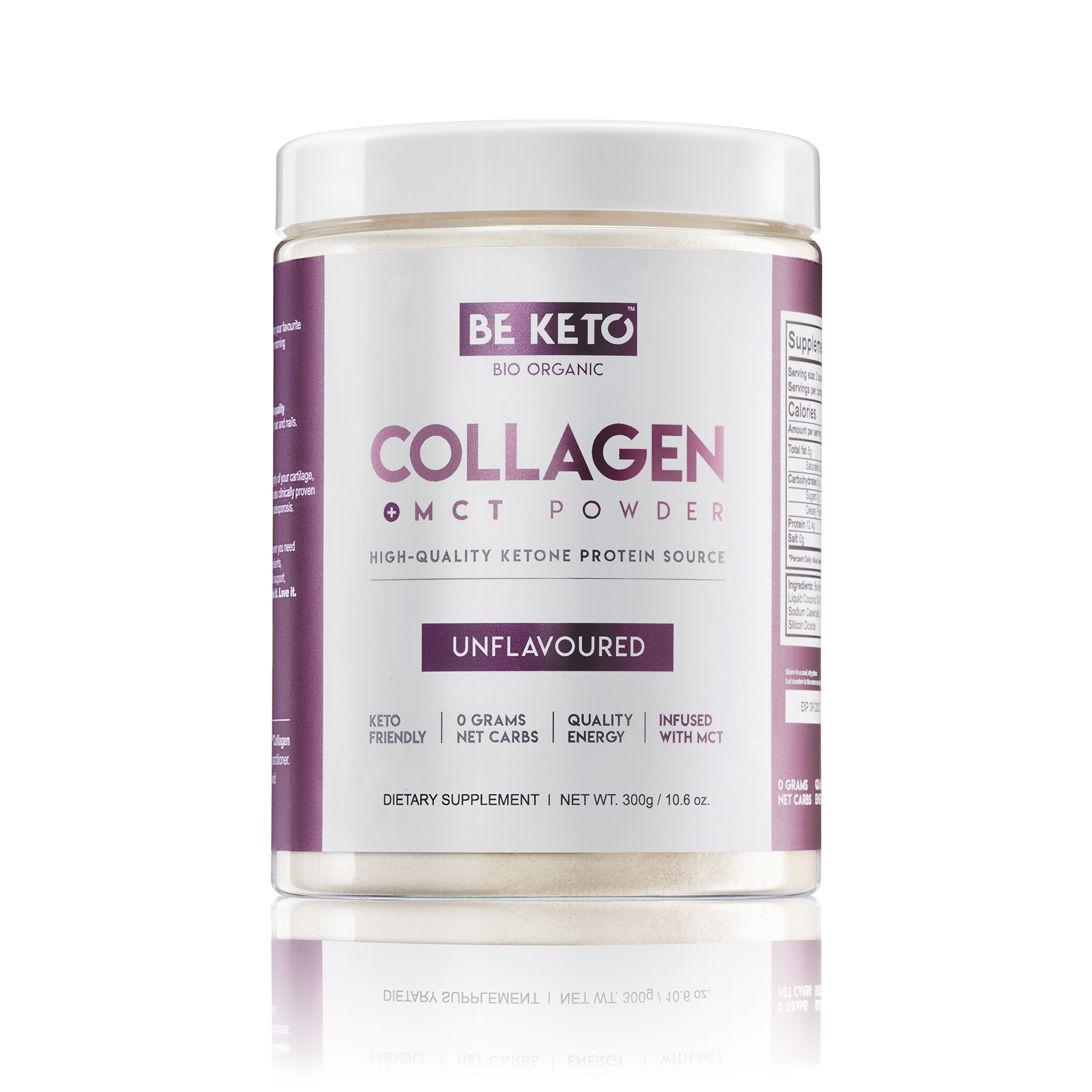 Keto Collagen + MCT Oil - Unflavoured