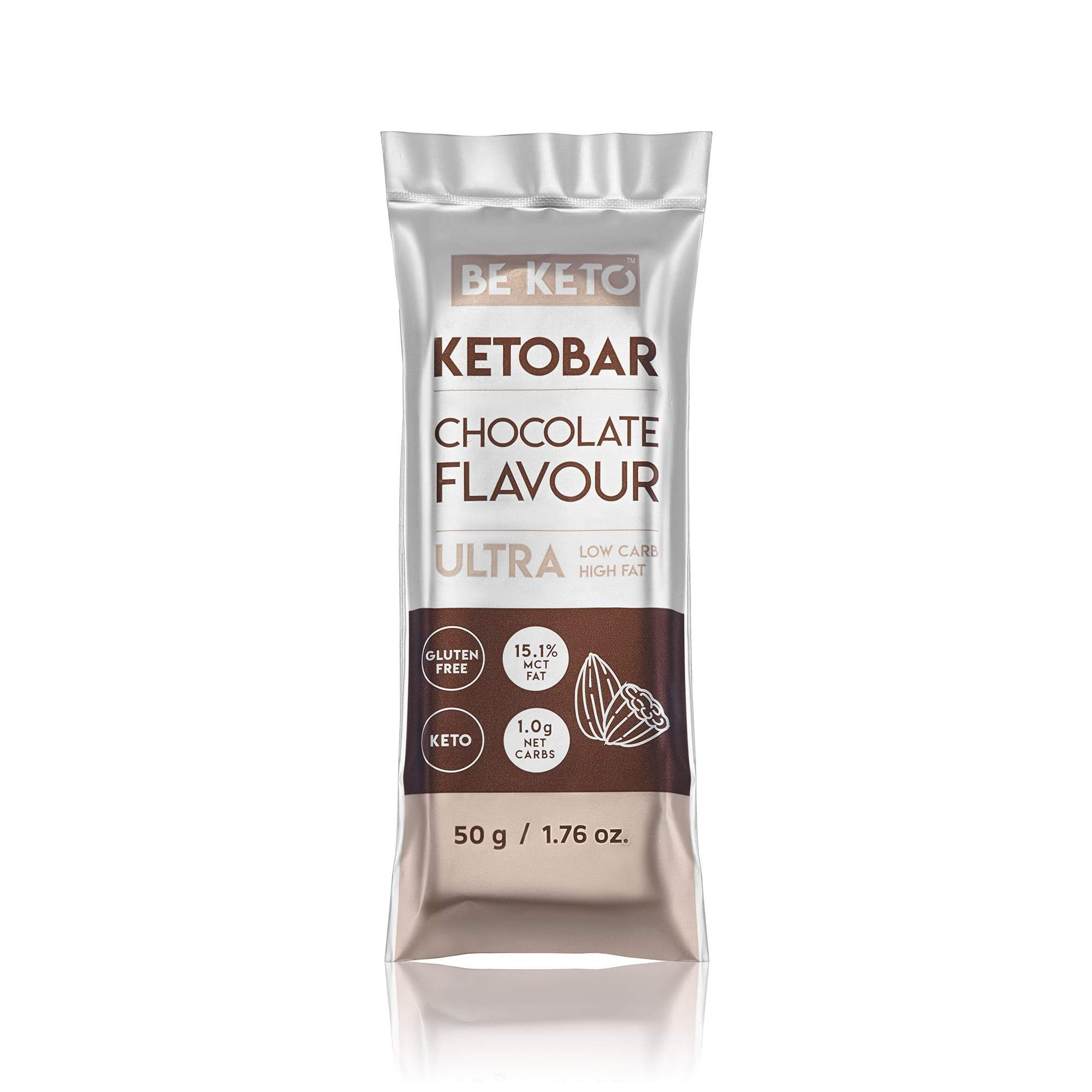 Keto Bar - Natural Chocolate - 50G