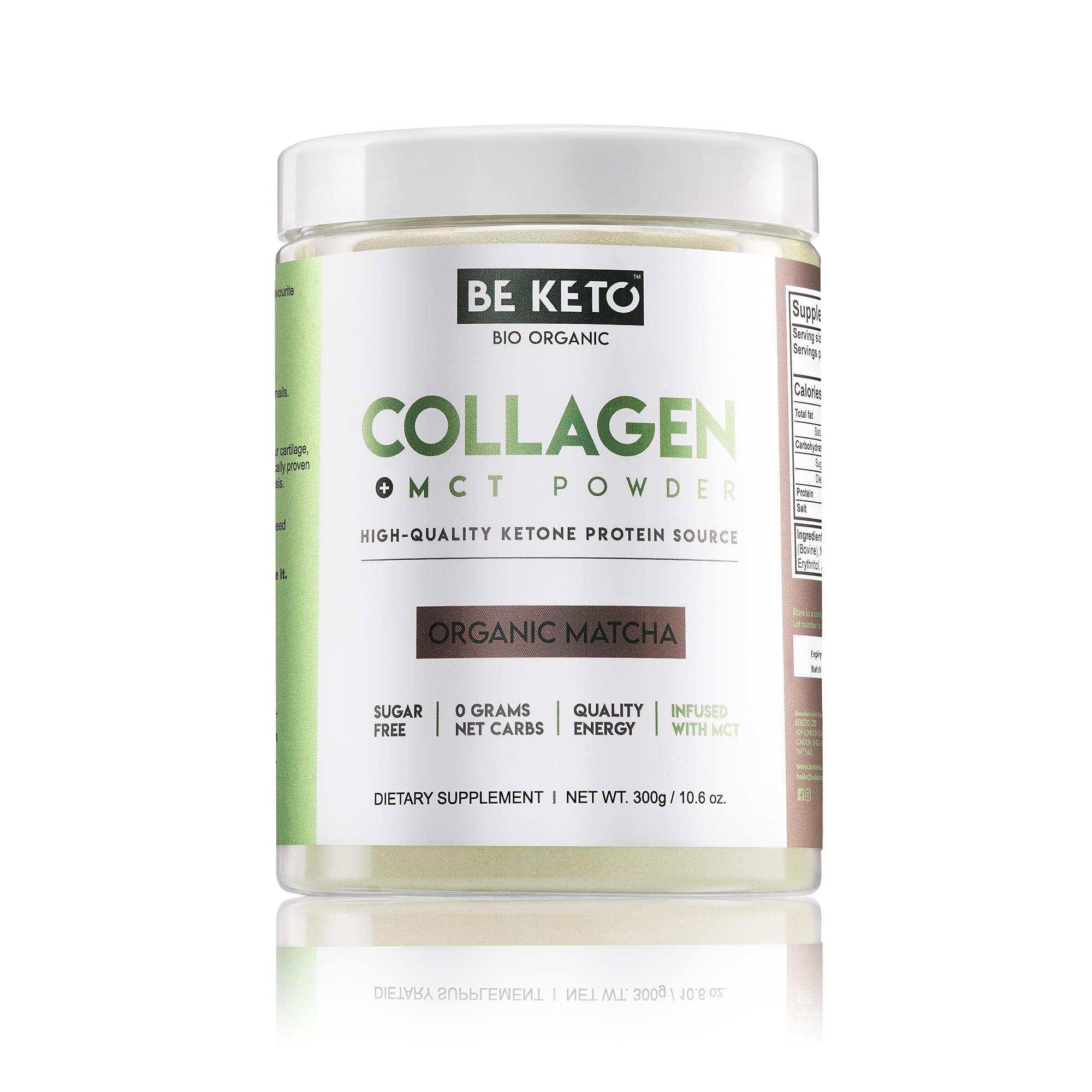 Keto Collagen + MCT Oil - Organic Matcha